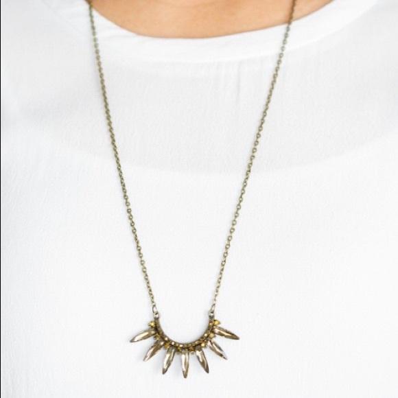 paparazzi Jewelry - Empirical Elegance - Brass